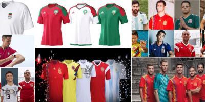 هویت بصری و لباس تیم های جام جهانی