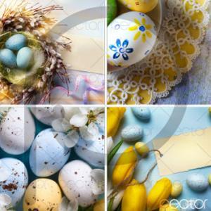 تصویر تخم مرغ رنگی عید