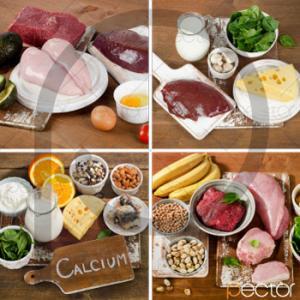 عکس استوک گوشت و سبزیجات