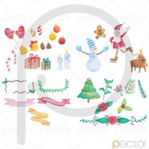 تصویرسازی کریسمس